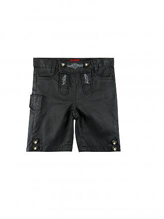 S.OLIVER | Lederhose in Denim-Optik | grau