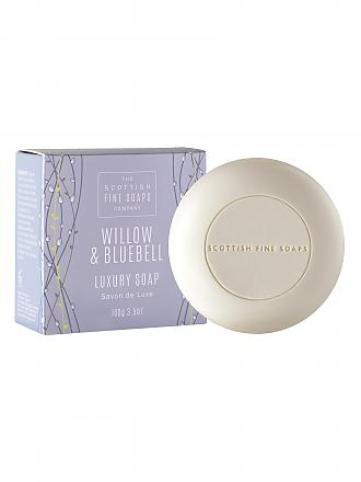 SCOTTISH FINE SOAPS | Willow & Bluebell - Soap Luxury 100g | transparent