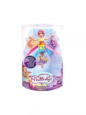 SPINMASTER | Flutterbye  - R/C Flying Fairy Deluxe Rainbow Light up | transparent