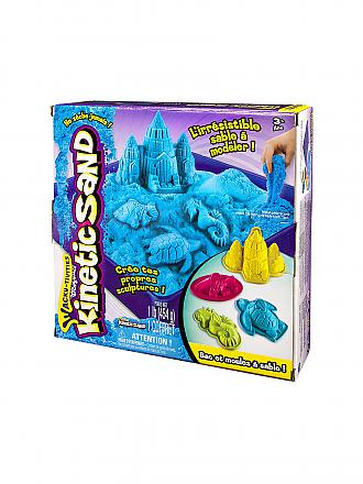 SPINMASTER | Kinetic Sand Box Set (Blau) 454g | transparent