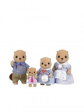 SYLVANIAN FAMILY | Seeotter Familie Otti | transparent