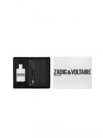 ZADIG & VOLTAIRE | Duftset - This Is Her! Eau de Parfum Vaporisateur 50ml/Pouch | transparent