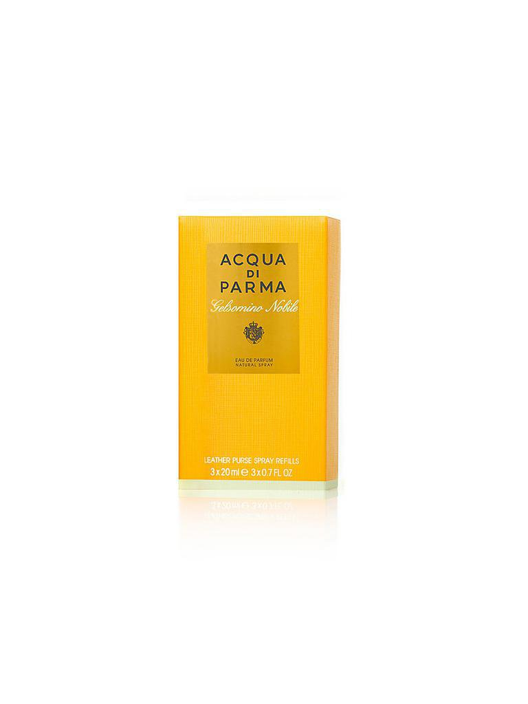 ACQUA DI PARMA | Gelsomino Nobile Leather Purse Spray Refills 3x20ml | transparent