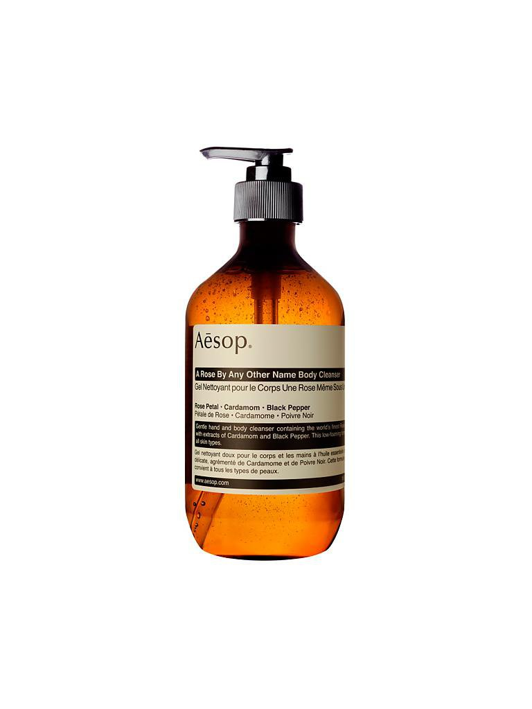 AESOP | A Rose By Any Other Name Body Cleanser 500ml | transparent