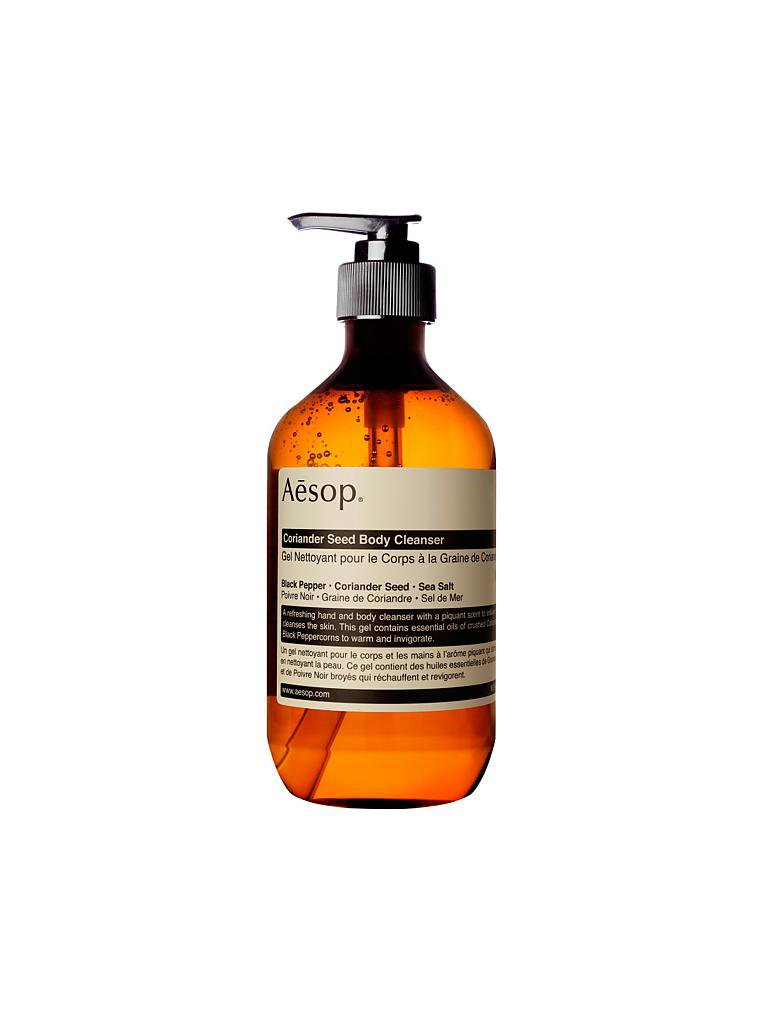 AESOP | Coriander Seed Body Cleanser 500ml | transparent