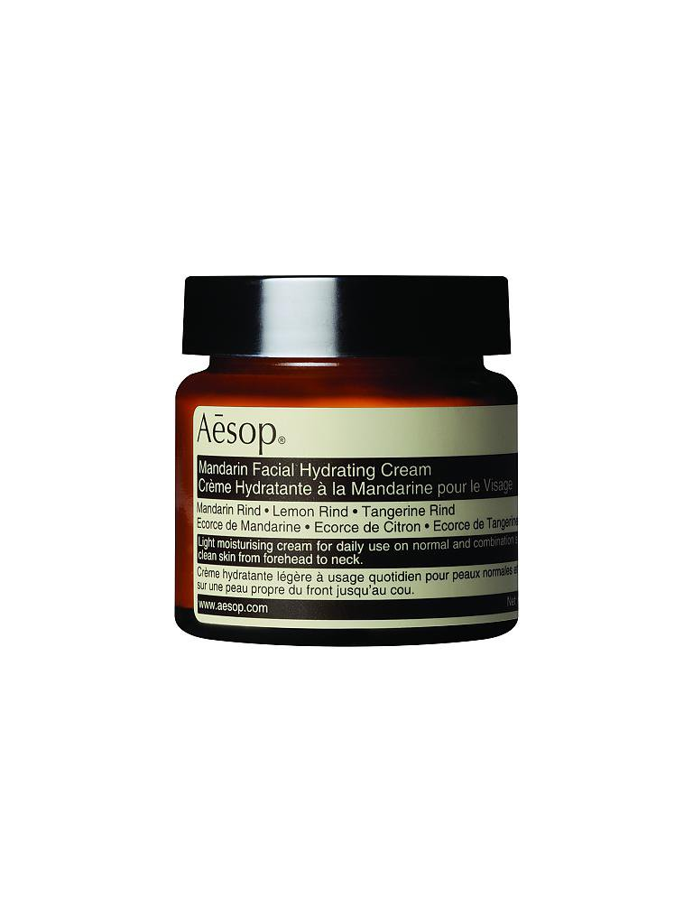 AESOP | Gesichtscreme - Mandarin Facial Hydrating Cream 60ml | transparent