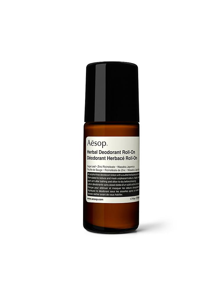 AESOP | Herbal Deodorant Roll-On 50ml | transparent