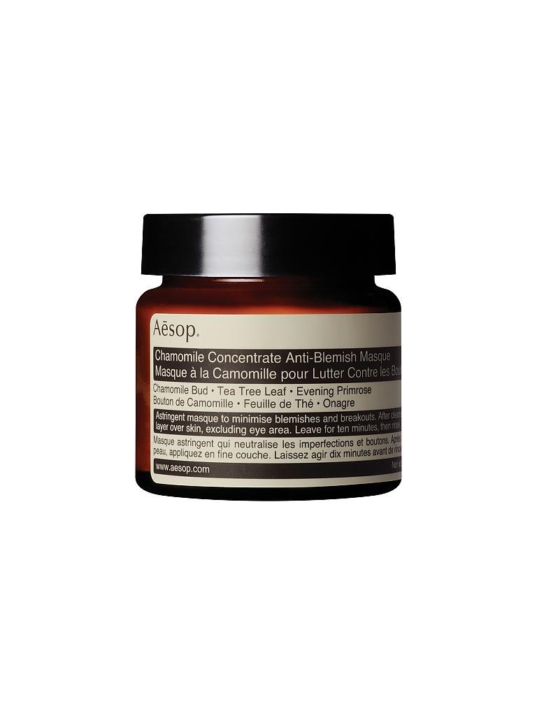 AESOP | Maske - Chamomille Concentrate Anti-Blemish Masque 60ml | transparent