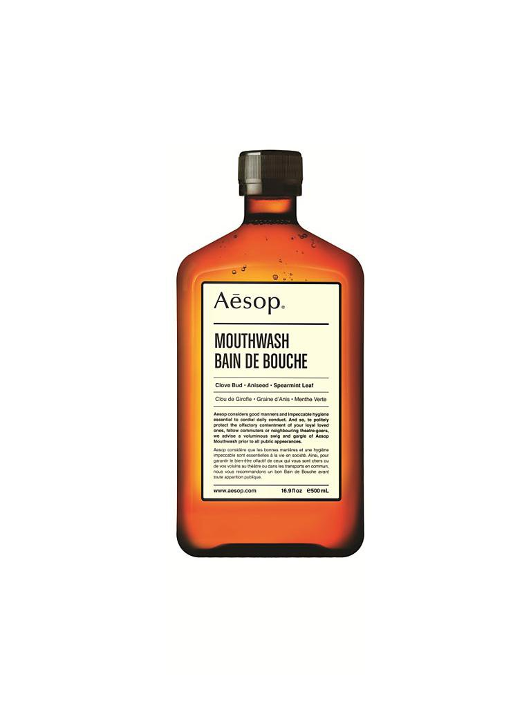 AESOP | Mundpflege - Mouthwash 500ml | transparent