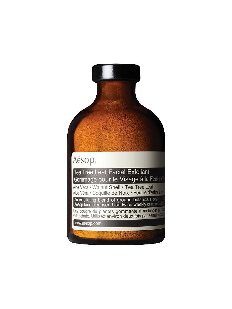 AESOP | Peeling - Tea Tree Leaf Facial Exfoliant 30g | transparent