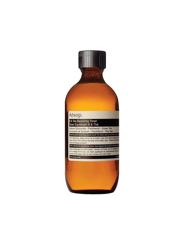 AESOP | Reinigung - B & Tea Balancing Toner 200ml | transparent