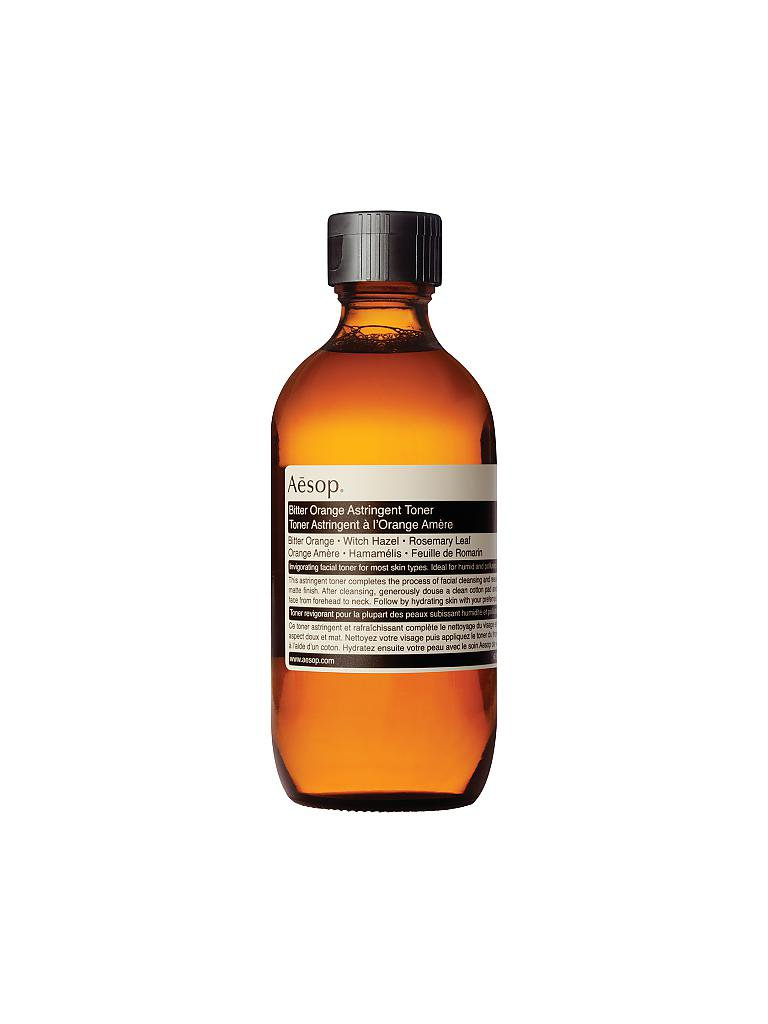 AESOP | Reinigung - Bitter Orange Astringent Toner 200ml | transparent