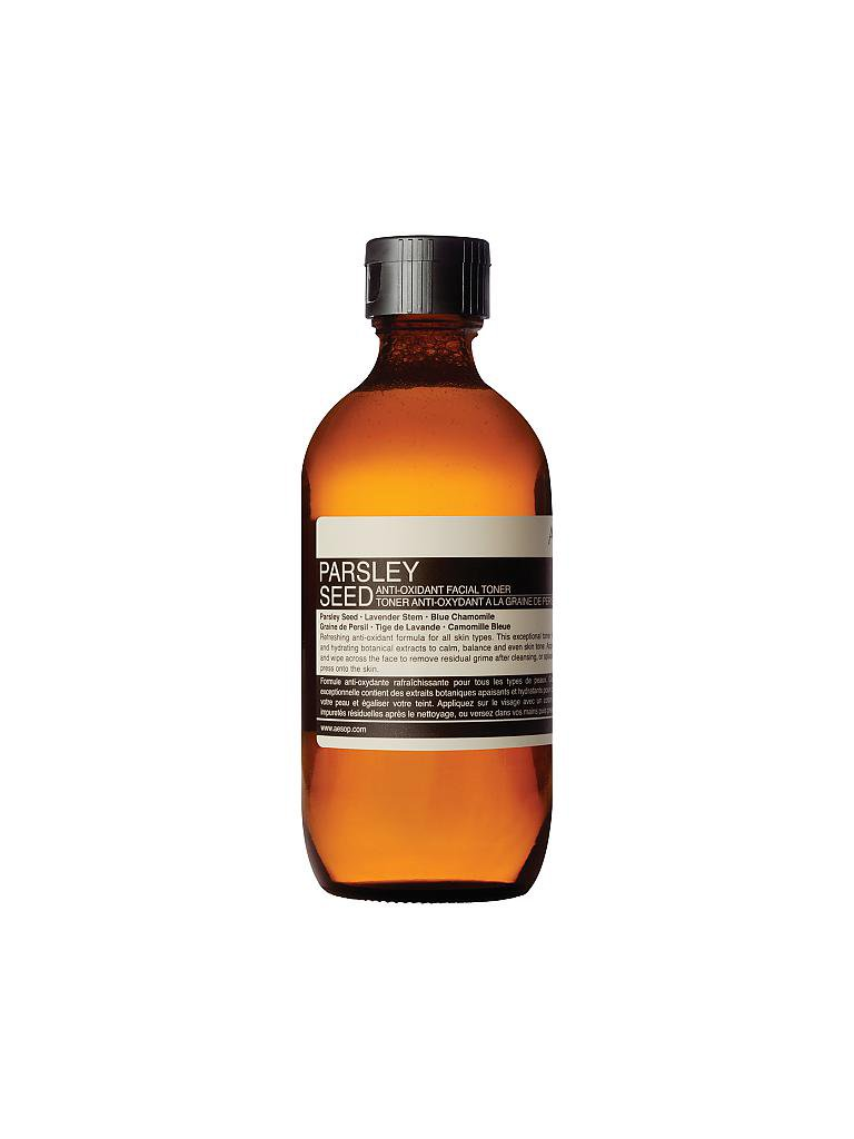 AESOP | Reinigung - Parsley Seed Anti-Oxidant Facial Toner 200ml | transparent