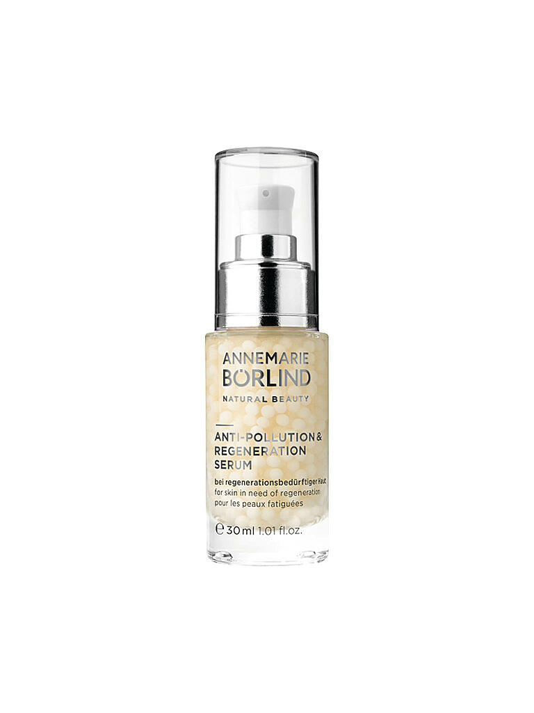 ANNEMARIE BÖRLIND | ANTI-POLLUTION & REGENERATION SERUM 30ml | transparent