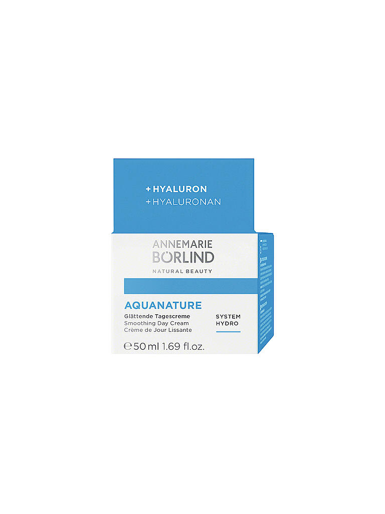ANNEMARIE BÖRLIND | AQUANATURE - System Hydro - Glättende Tagescreme 50ml | transparent