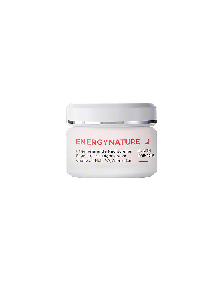 ANNEMARIE BÖRLIND | ENERGYNATURE - System Pre-Aging - Nachtcreme 50ml | transparent