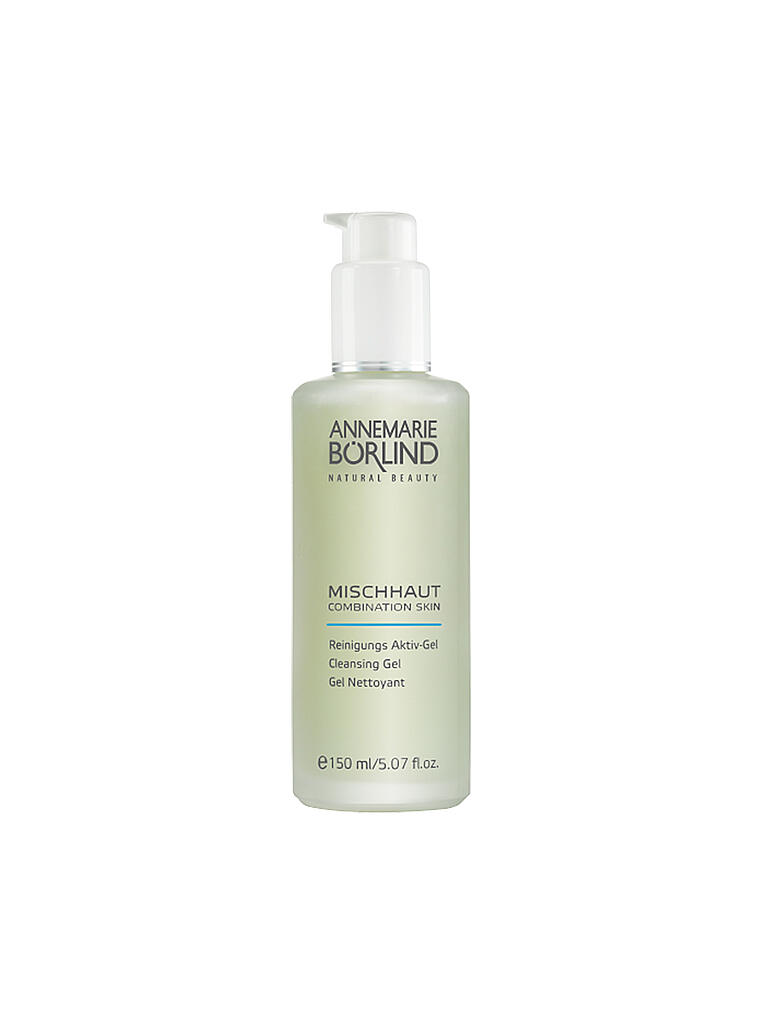 ANNEMARIE BÖRLIND | MISCHHAUT - System Balance - Mildes Reinigungs Aktiv-Gel 150ml | transparent