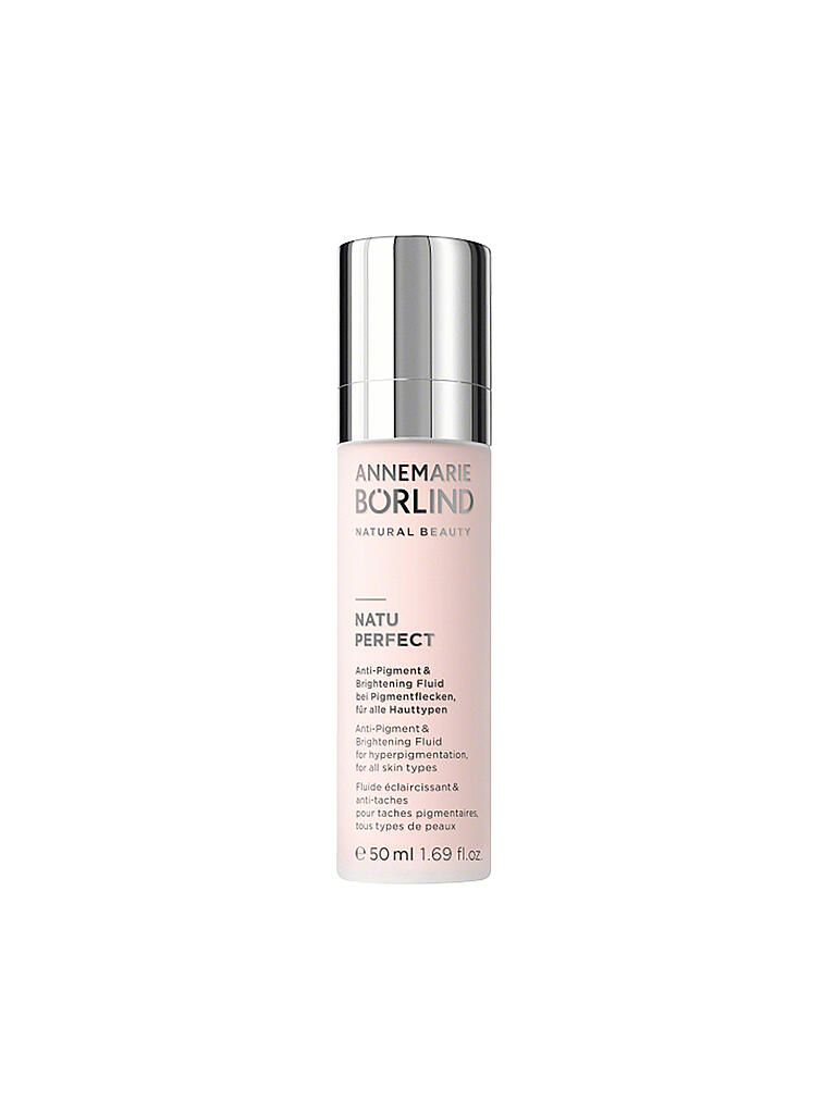 ANNEMARIE BÖRLIND | NATUPERFECT - Anti-Pigment and Brightening Fluid 50ml | transparent