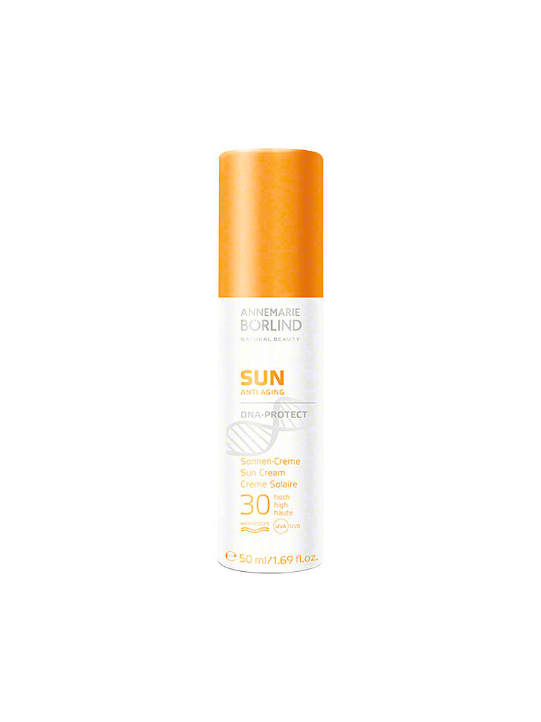 ANNEMARIE BÖRLIND | SUN Sonnen-Creme DNA-Protect LSF 30 50ml | transparent