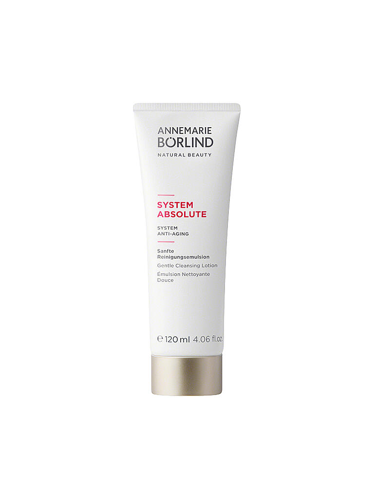 ANNEMARIE BÖRLIND | SYSTEM ABSOLUTE - System Anti-Aging - Reinigungsemulsion 120ml | transparent