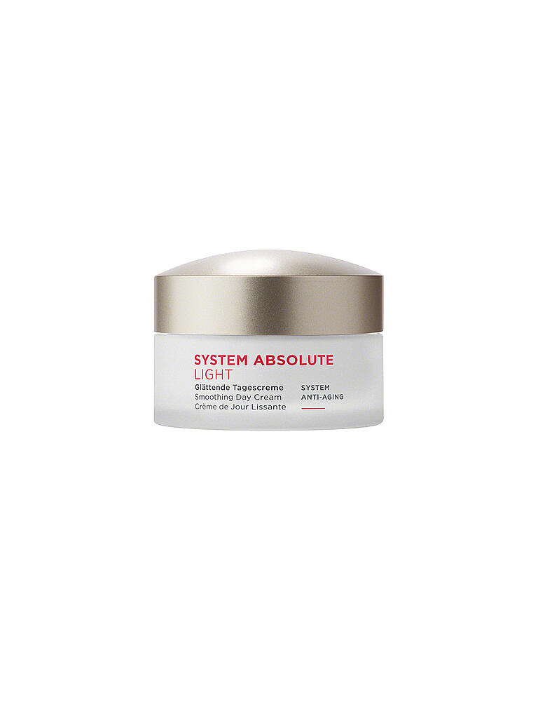 ANNEMARIE BÖRLIND | SYSTEM ABSOLUTE - System Anti-Aging - Tagescreme light 50ml | transparent