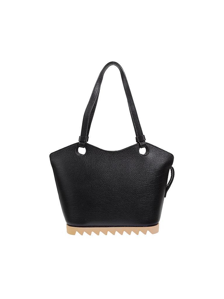 8337f815896eb ARCADIA Ledertasche - Handtasche schwarz