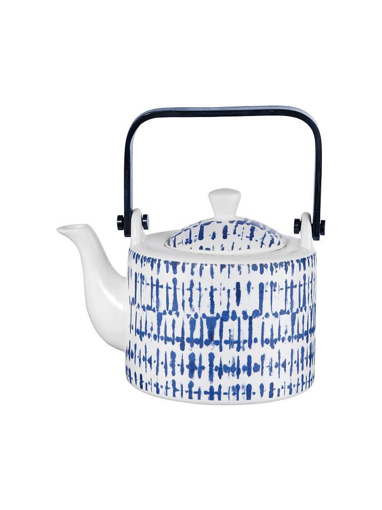 asa teekanne mit sieb indigo 0 75l blau. Black Bedroom Furniture Sets. Home Design Ideas