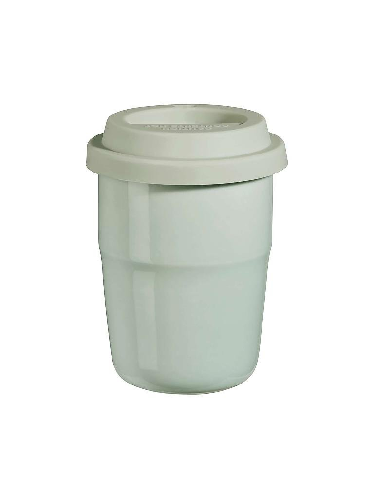 "ASA | Thermobecher mit Deckel ""Cup & Go - Thermo"" 0,2l (Mint/Mint) 