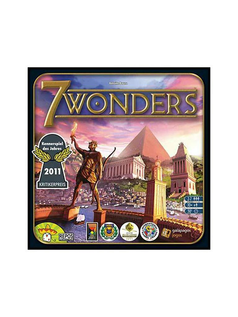 ASMODEE | Brettspiel 7 Wonders | transparent