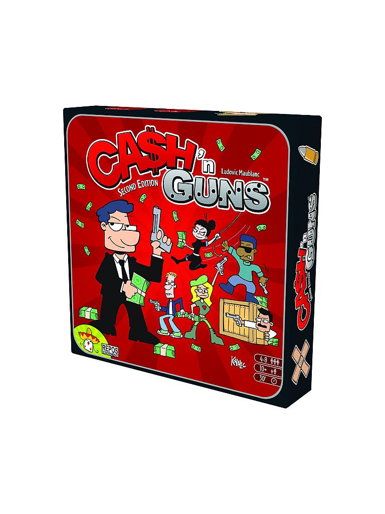 ASMODEE | Cash'n Guns | transparent