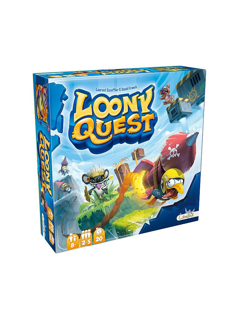 ASMODEE | Loony Quest | transparent
