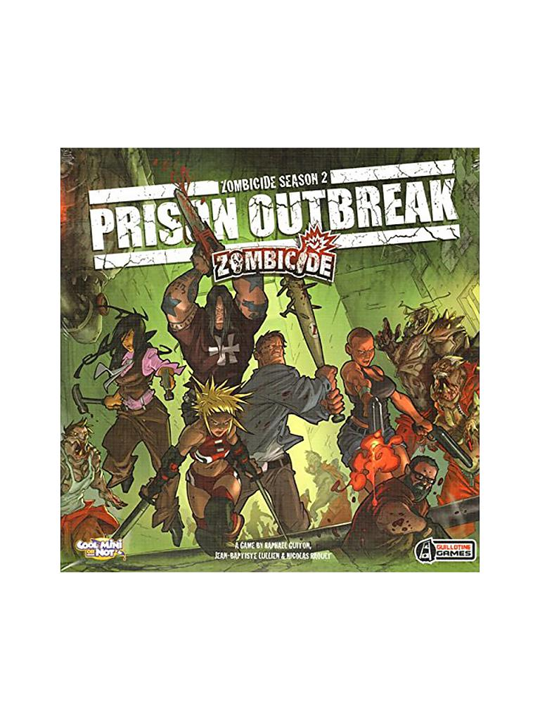 ASMODEE | Zombicide -  Prison Outbreak (Season 2) | transparent