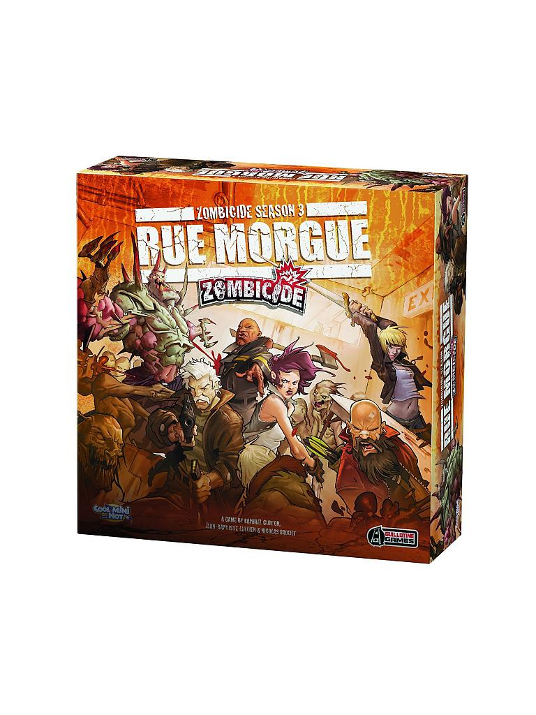 ASMODEE | Zombicide -  Rue Morgue Season 3 Tiles Pack | transparent