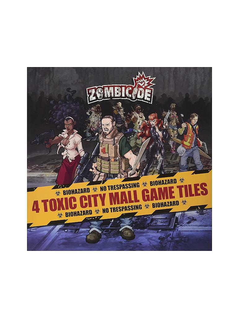 ASMODEE | Zombicide -  Toxic City Mal (Erweiterung 1 Tiles Pack) | transparent