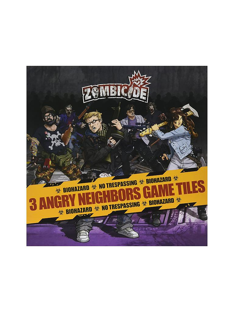 ASMODEE | Zombicide - Angry Neighbours | transparent
