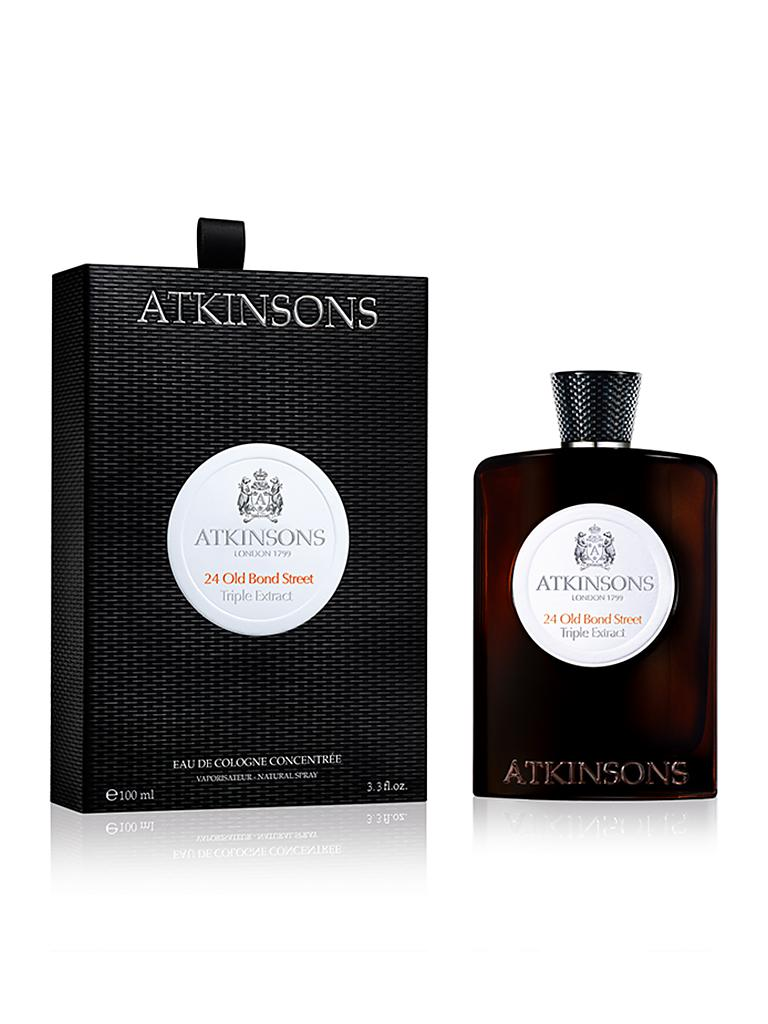 ATKINSONS | Old Bond Triple Extract Eau de Cologne 100ml | transparent