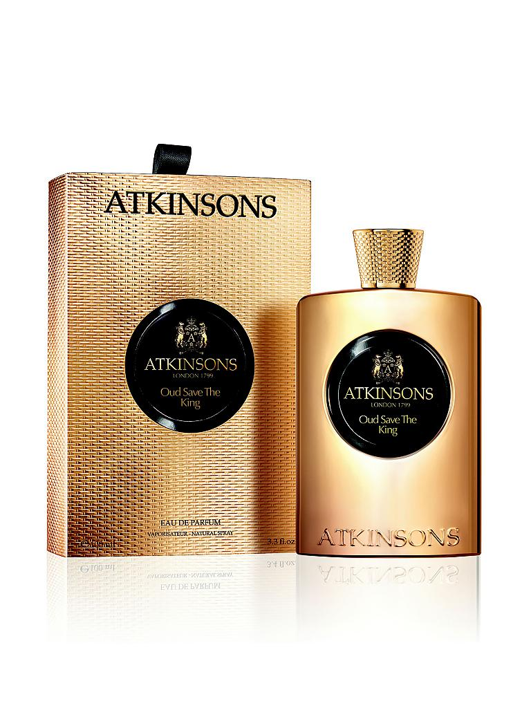 ATKINSONS | Oud Save The King Eau de Parfum 100ml | transparent