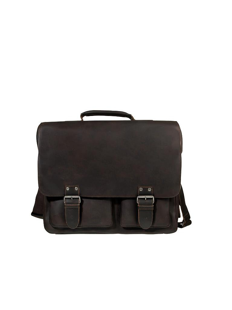 "AUNTS & UNCLES | Ledertasche - Laptoptasche ""Hunter - Big Finn"" 
