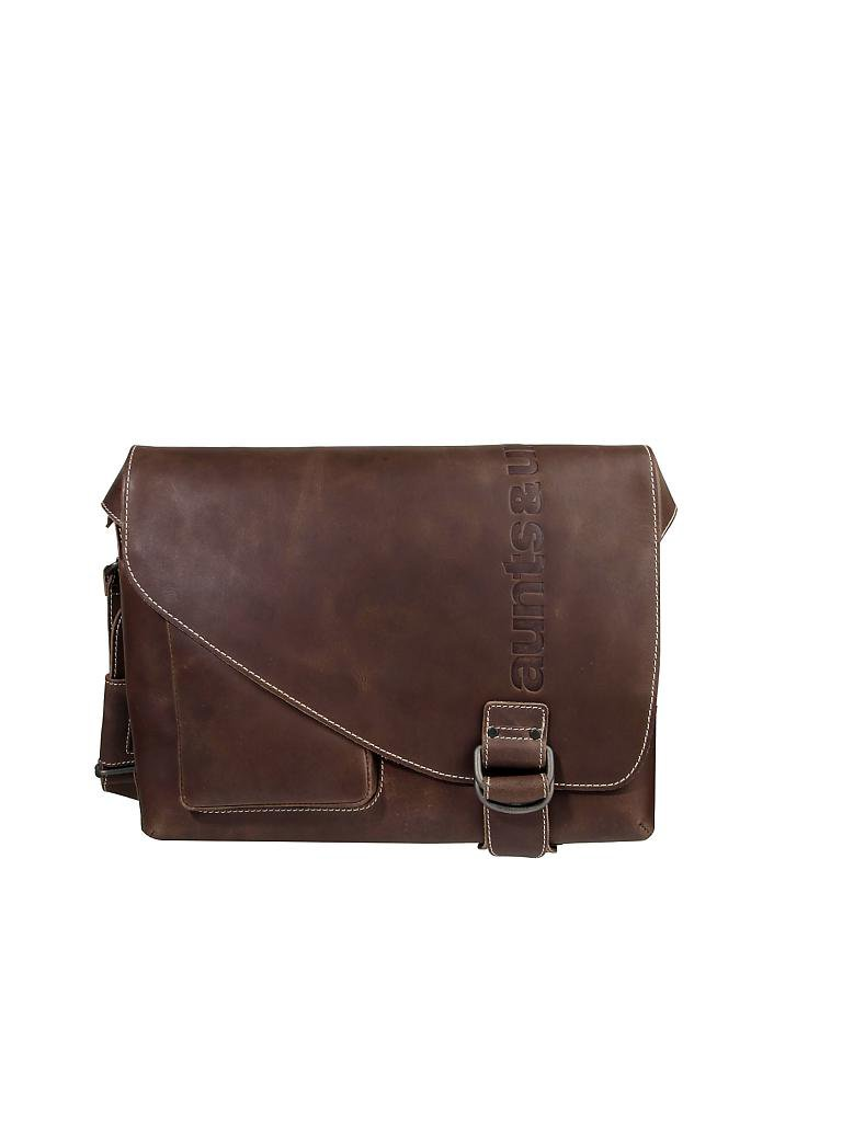 "AUNTS & UNCLES | Ledertasche - Postbag ""Hunter - Judd M"" 