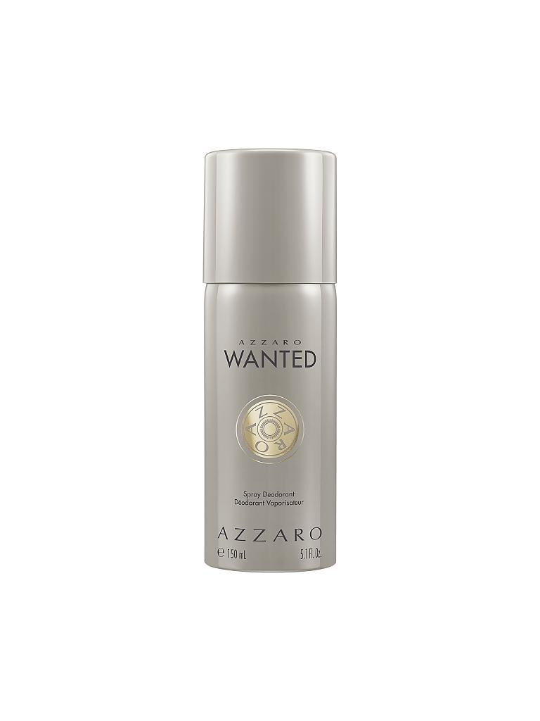 AZZARO | Wanted Deodorant Spray (Aluminium frei) 150ml | transparent