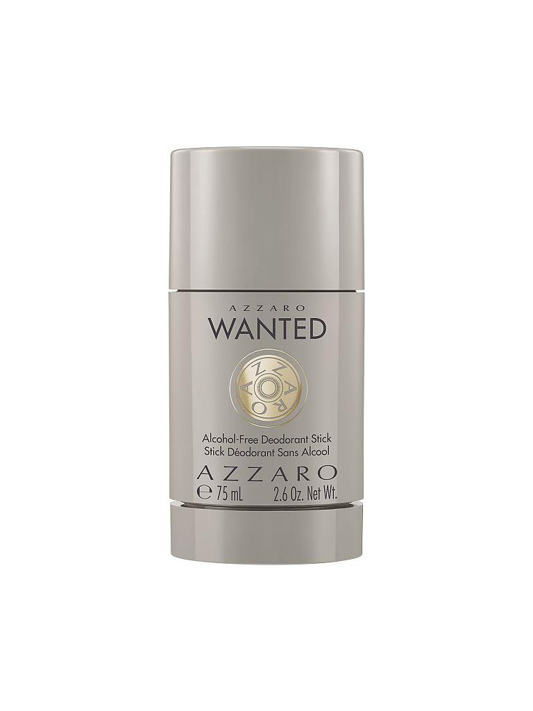 AZZARO | Wanted Deodorant Stick (Aluminium frei) 75ml | transparent