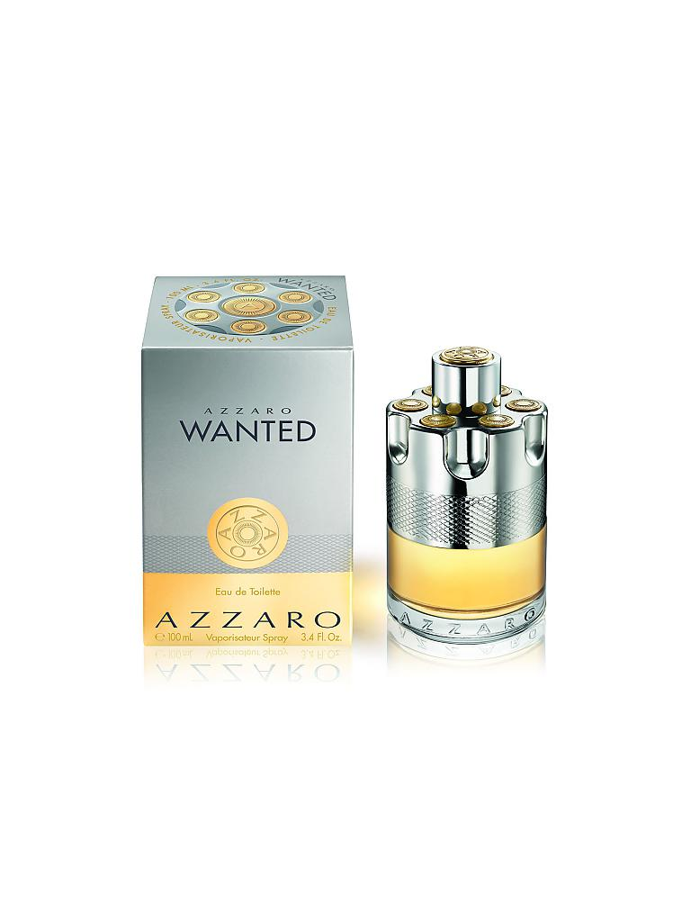 AZZARO | Wanted Eau de Toilette Spray 100ml | transparent