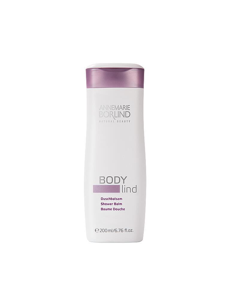 BÖRLIND | BODY lind Duschgel 200ml | transparent