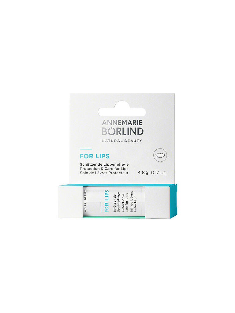 BÖRLIND | For Lips - Schützende Lippenpflege | transparent
