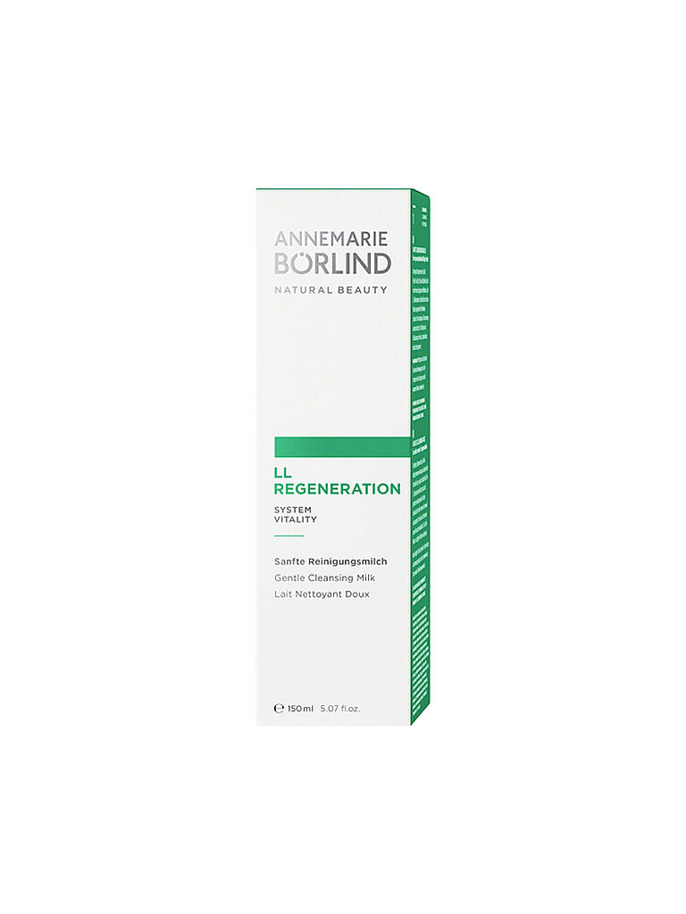 BÖRLIND | LL Regeneration - Reinigungsmilch 150ml | transparent