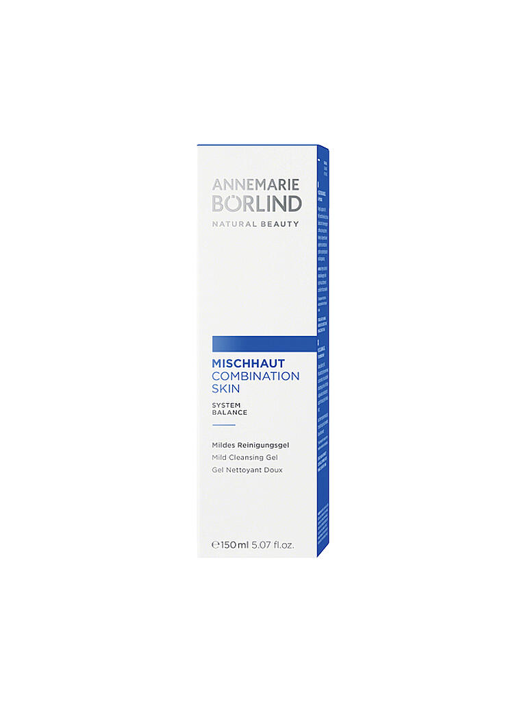BÖRLIND | MIschhaut - Reinigungs Aktiv-Gel 150ml | transparent