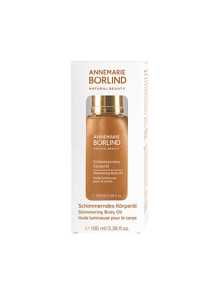 BÖRLIND | SUN Schimmerndes Körperöl 100ml | transparent