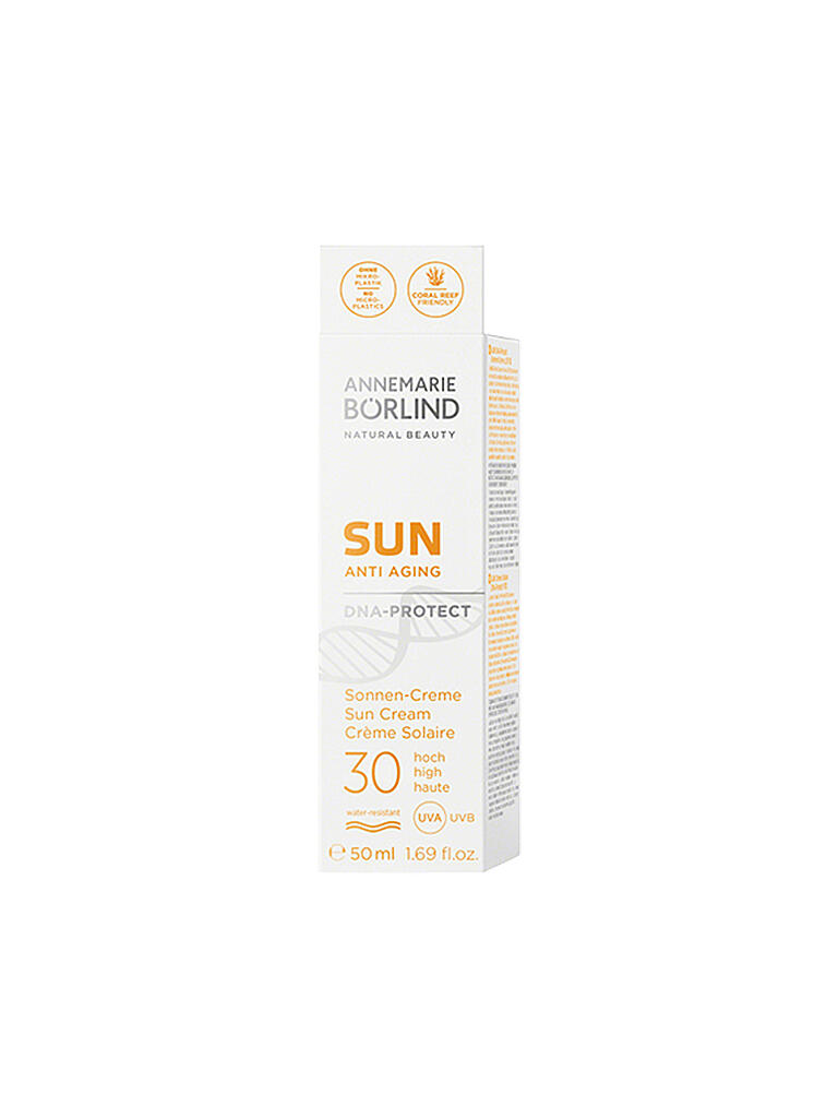 BÖRLIND | SUN Sonnen-Creme DNA-Protect LSF 30 50ml | transparent