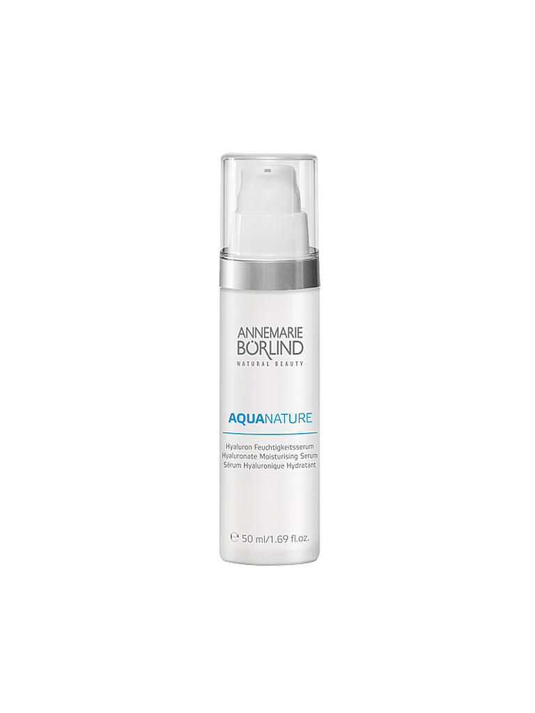 BÖRLIND | AQUANATURE Hyaluron Feuchtigkeitsserum 50ml | transparent