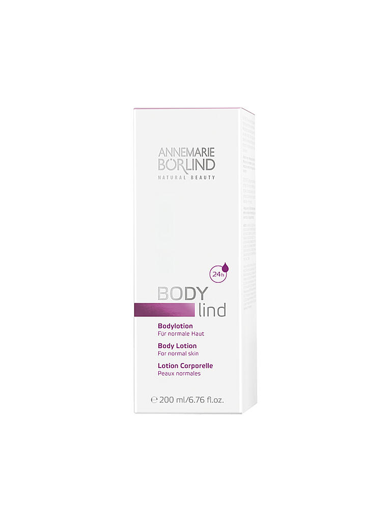 BÖRLIND | BODY lind Bodylotion 200ml | transparent